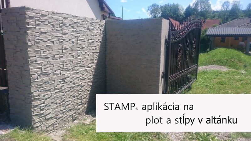 Stamp-aplikacia-na-plot-a-stlpy